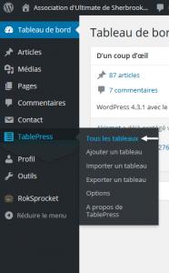 AccesOutilTableaux
